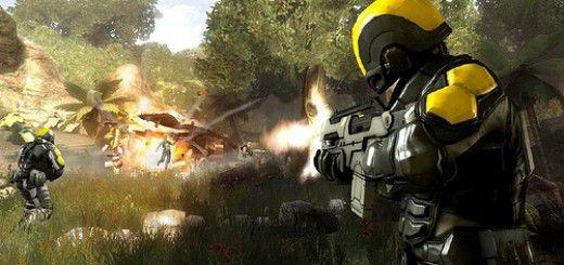 Screenshot of Haze