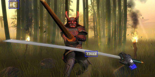Wii swordfighting game