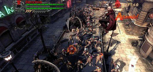 Screenshot of Devil May Cry 4