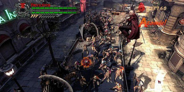 Screenshot of Devil May Cry 4