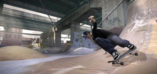 Tony Hawk skateboard screenshot