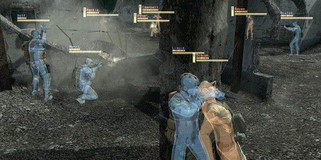 Screenshot of Metal Gear Solid 4