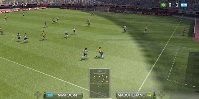 Screenshot of Pro Evolution Soccer 2009