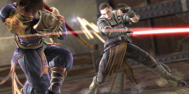 Screenshot of Soul Calibur IV