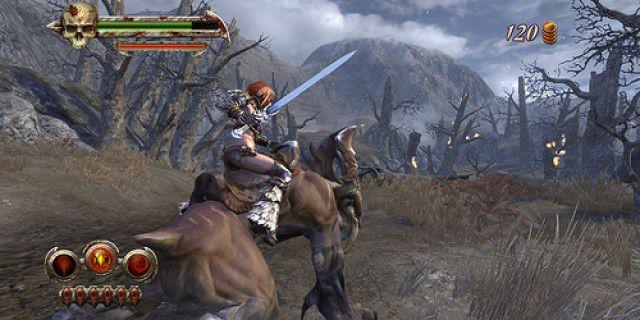 Golden Axe Beast Rider screenshot