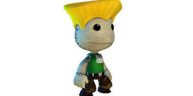 Little Big Planet Street Fighter costume
