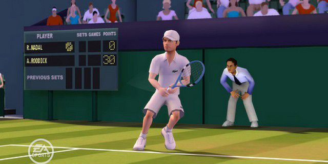 EA Grand Slam Tennis screenshot