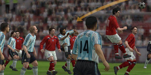 Screenshot of Pro Evolution Soccer 2009