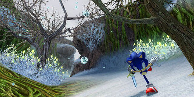 Screenshot of Sonic and the Black Knight