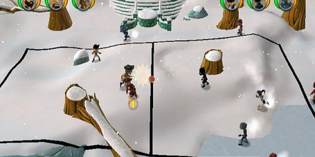 Pirates vs Ninjas Dodge Ball