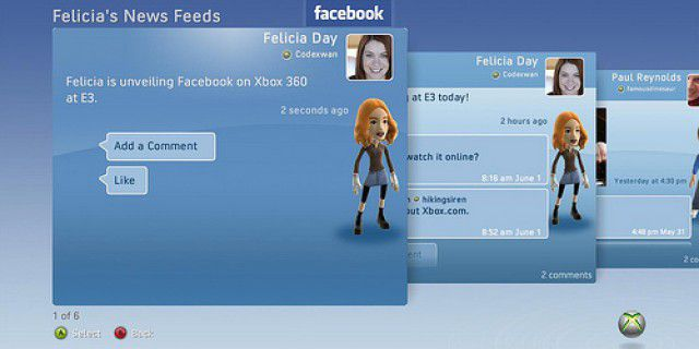 Screenshot of Xbox 360