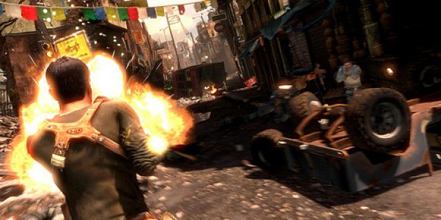Screenshot of Uncharted 2 Among Thieves