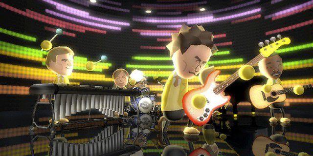 Screenshot of Wii Music