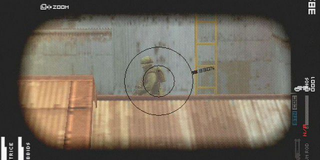 Metal Gear Solid Peace Walker screenshot