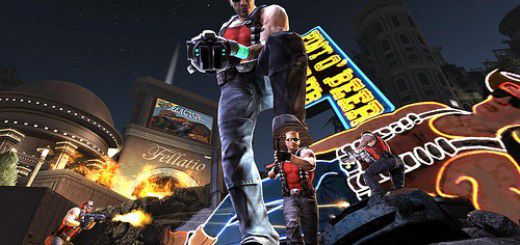 Screenshot of Duke Nukem
