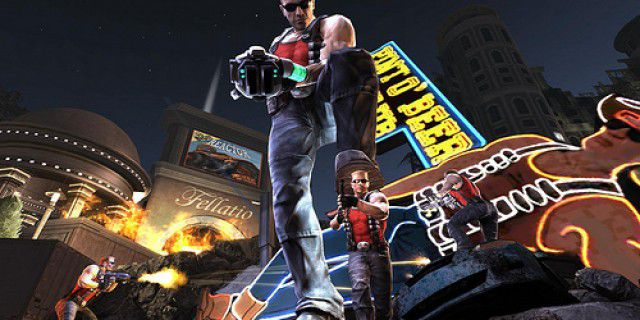 Screenshot of Duke Nukem