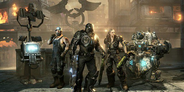 Screenshot of Gears of War 3