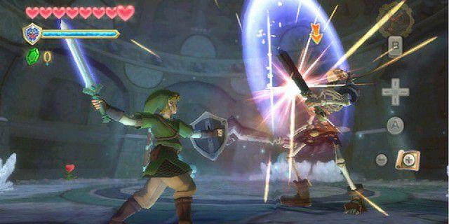Screenshot of The Legend of Zelda Skyward Sword