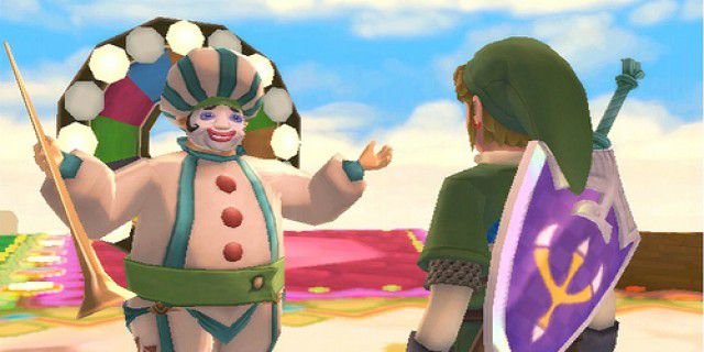 Screenshot of The Legend of Zelda Skyward Sword