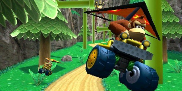 Screenshot of Mario Kart 7