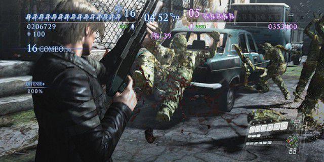 Screenshot of Resident Evil 6
