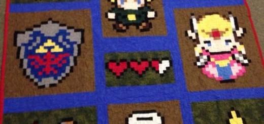Cool Zelda rug